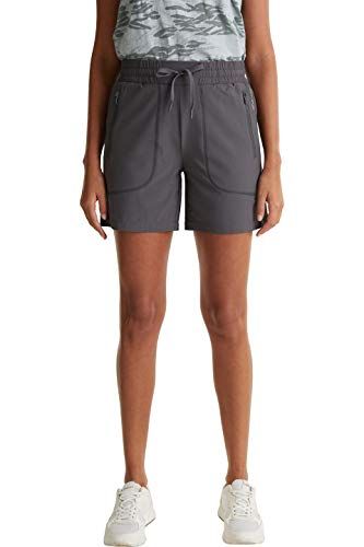 ESPRIT Sports Damen Woven Wander-Shorts, 010, L