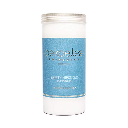 PekoeTea Edinburgh - Berry Hibiscus Fruit Infusion Caddy, 50g