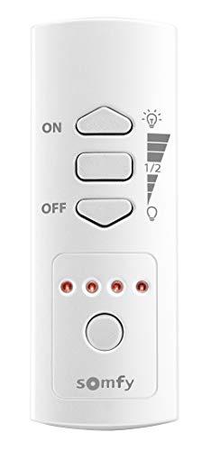 Somfy 2401367 afstandsbediening 5 kanalen voor stopcontacten en spuitmonden wit, wit