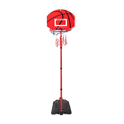 Canasta Baloncesto Soporte De Baloncesto Ajustable De 80-240 Cm, Aro De Baloncesto Portátil, con Tablero Y Borde De ABS, Juguetes para Interiores Y Exteriores para Niños Y Adultos (Color : Style2)