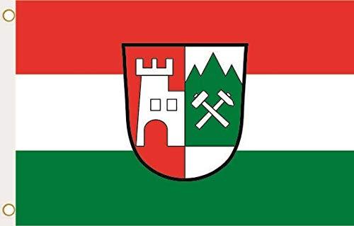 U24 Flagge Fahne Burgberg im Allgäu 90 x 150 cm
