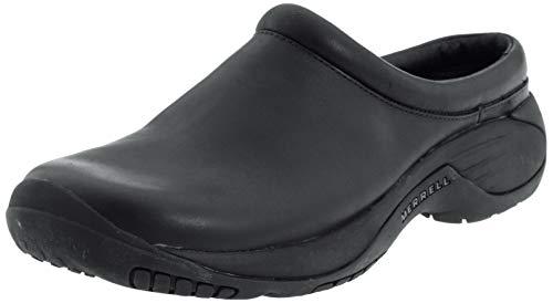Merrell Men's Encore Gust Slip-On Shoe,Smooth Black Leather,9.5 M US