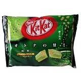 Japanese green tea (kitkat bag 12 mini pack inside) net wt. by japanese kitkat 144 g