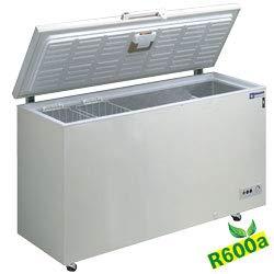 Gefriertruhe TIefkühltruhe Kühltruhe Türschloss, Thermostat -12 bis - 24°C, inkl. 2 Körbe