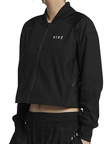 Nike Sportbekleidung Bomberjacke Damen Schwarz 92210101010 L