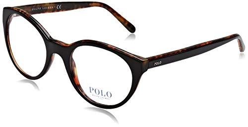 Polo Ralph Lauren 0PH2174, Monturas de Gafas para Mujer, Negro (Top Black...