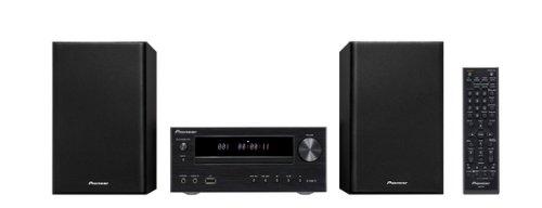 Pioneer X-HM11-K Micro Hifi-System (Aluminium-Front, Front-USB, FM/AM Tuner mit RDS) schwarz