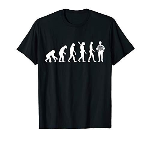 Evolution Akkordeon T-Shirt