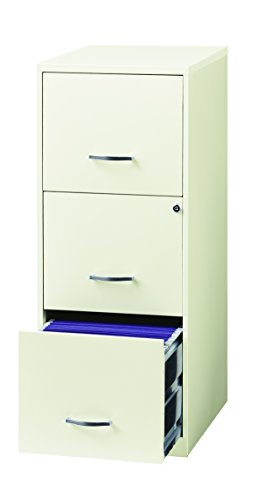 Space Solutions 20227 File Cabinet 18-Inch White