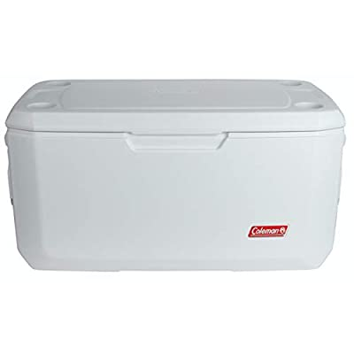 Coleman Coastal Xtreme Series Marine Portable Cooler, White, 120 Quart