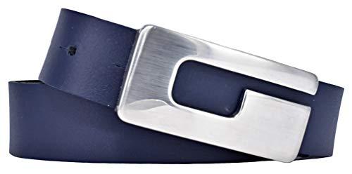 Softledergürtel 301525 von Bernd Götz marine (95)