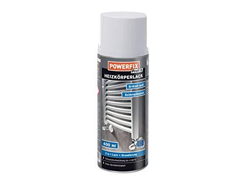 3 x Powerfix Profi Heizkörperlack 2in1 Lack Grundierung brilliant weiß seidenglänzend 400 ml