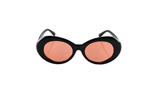 Loomiloo merk zonnebril voor dames retro designer vintage vrouwen ovaal jaren '60 kattenoog