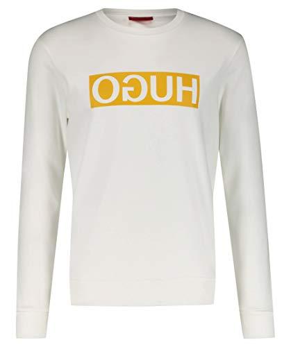 HUGO Herren Sweatshirt Dicago Weiß L