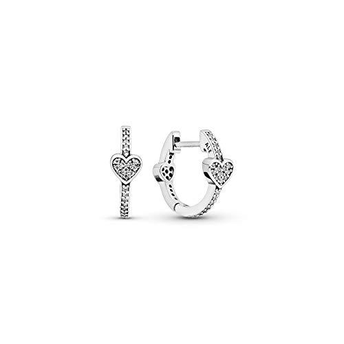 Pandora Pendientes de aro Mujer plata - 297290CZ