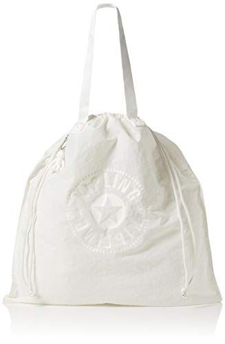 Kipling Damen New Hiphurray L Fold Tote Weiß (Lively White)