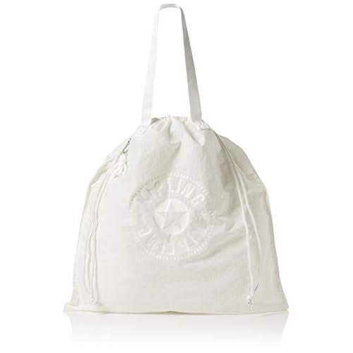 Kipling New Hiphurray L Fold - Borse Tote Donna, Bianco (Lively White), 0.1x45x49.5 cm (B x H T)