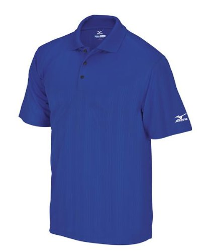 Mizuno Drylite Performance Polo de Golf pour Homme Bleu Bleu...