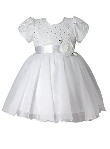 Boutique-Magique Robe Bapteme bébé Petite Fille