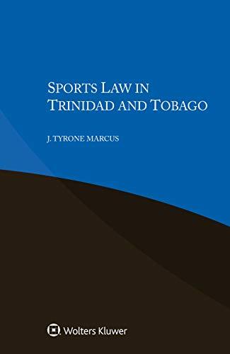 Sports Law in Trinidad and Tobago (English Edition)