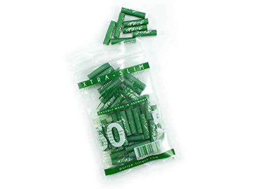 50er PURIZE® XTRA Slim Size Aktivkohlefilter SET - grün