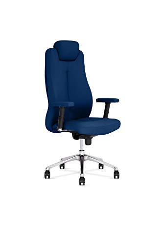 Preisvergleich Produktbild Nowy Styl Sonata Lux Bürostuhl,  Polsterung,  blau,  One Size