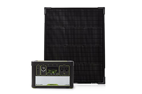 Goal Zero Yeti 400 Lithium Solar Generator Kit with Boulder 50 Solar Panel