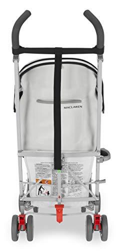 Maclaren Volo Wing Knit Silla de paseo - ligera, de los 6 meses hasta los 25 kg, suspensión en las 4 ruedas, Capota extensible con UPF 50+