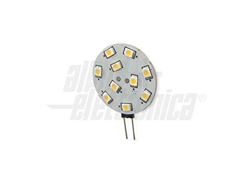 LED-lamp G4 12V - 24V 2,2W CAMPER NAUTICA warm licht 3200K vervangt de halogeenstiftfitting