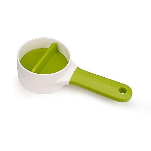 Espiralizador portátil compacto Joseph SpiroGo com suporte removível para alimentos, pode ser lavado na lava-louças, tamanho único, verde