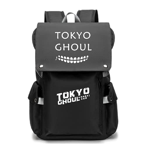 Anime Tokyo Ghoul Mochila Kaneki Ken Cosplay Bookbag Daypack Laptop Bolsa de escuela