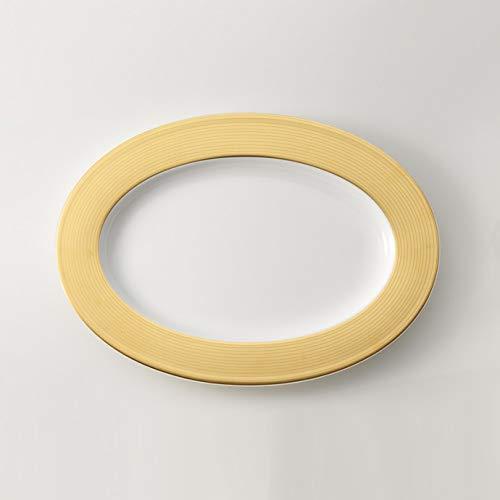 Dibbern Pure Gold Platte Oval 34 cm