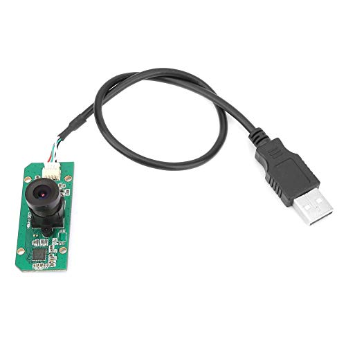 HBV-1302 300.000 Pixel USB-Kameramodul mit 120 ° Weitwinkelobjektiv und OV7725-Chip zur Sicherheitsüberwachung, zum Fahren von Rekordern und für POS-Geräte