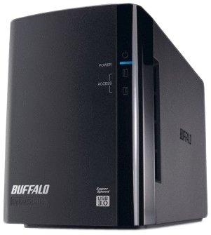 Buffalo DriveStation Duo 2TB (2 x 1TB) USB 3.0 External Hard Driv