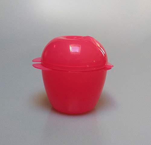 Tupperware - Caja para fruta y manzana, color rosa