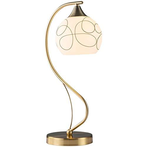 JCCOZ-URG Lámpara de cabecera de Mesa Lámpara del Dormitorio nórdico Simple lámpara Living Moderno Caliente Creativo a Distancia Lámpara de Control Americana de Noche de Contador URG