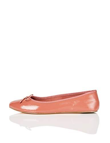 find. Simple Bailarinas con Punta Cerrada, Pink, 36 EU