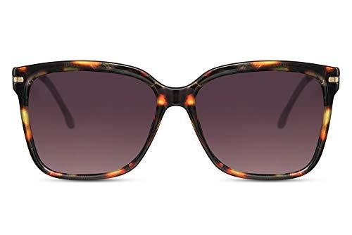 Cheapass Gafas de Sol Clásicas Cuadradas Mariposa paraest Demi con Gradual Lentes Protección UV400 Perfecta Forma para Mujeres