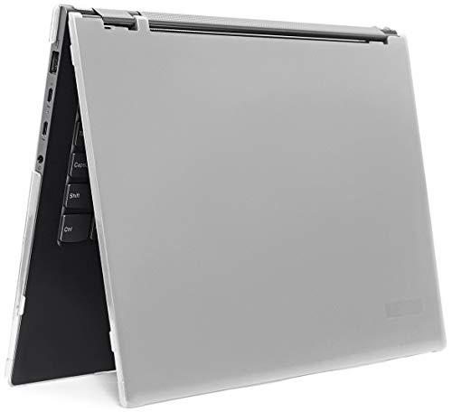 """mCover Hard Shell Case for 2019 15.6"""" Lenovo Yoga Chromebook C630 Series 2-in-1 Laptop Computer (NOT Fitting Other Lenovo Yoga/Chromebook laptops) (Yoga-CB-C630 Clear)"""