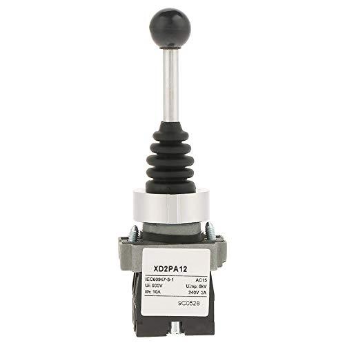 Interruptor de palanca de mando, XD2PA12 Interruptor 2NO Interruptor de palanca de mando, para arranque magnético de control de control industrial