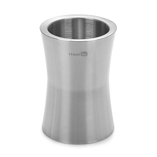 Homiu Wine Cooler Bucket 2.5 Liters Stainless Steel Matt Finish Capacity Long-Lasting Double Wall Insulation For Added Chill