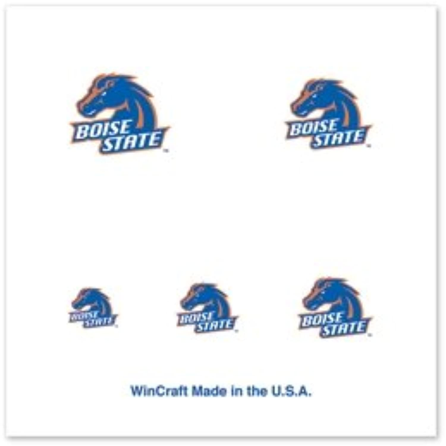 BOISE STATE BRONCOS OFFICIAL LOGO FINGERNAIL TATTOOS