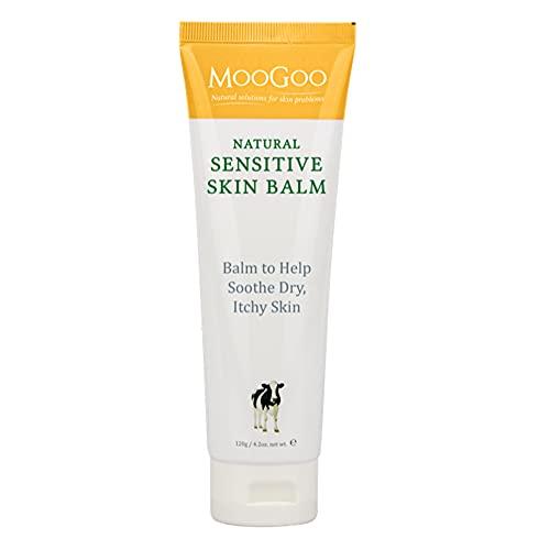 MooGoo Sensitive Skin Balm - Help Sooth Dry, Itchy Skin, 120g
