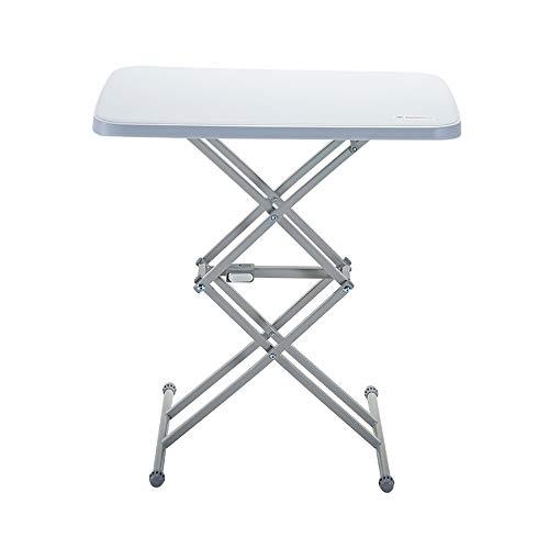 HSRG klaptafel stevig en duurzaam stalen frame benen, 4 verstelbare hoogten, voor picknick, camping, barbecue, feest, strand