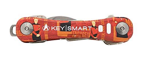 KeySmart Pro - Soporte para llaves con azulejo (Star Trek, hasta 10 llaves)