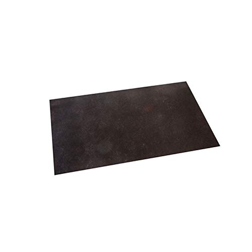 MORIGAMI MTP30016698 Mantel Individual Deluxe, 30 x 40 Cm, Polipropileno, Negro, Set de 500