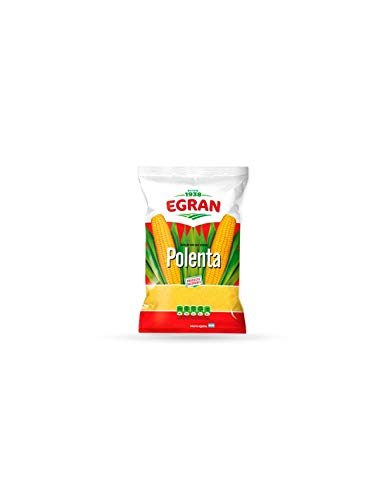 EGRAN- Polenta Común - ( Harina de Maíz PREcocida) Producto Argentino - 500 Gramos