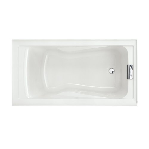 American Standard 2425V#RHO002.020 Evolution Bathtub with Integral Apron Right Hand Drain Outlet, White