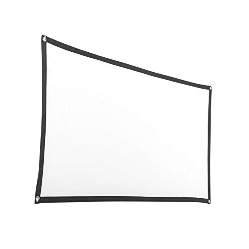 FinWell Folding Projector Curtain Anti-Light Screen Home Outdoor Office Portable 3D HD Projector Screen
