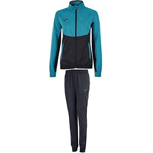 Joma Damen Essential Micro Trainingsanzug, Meeresgrün, S